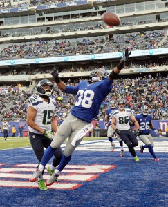 Trumaine McBride, New York Giants (December 15, 2013)