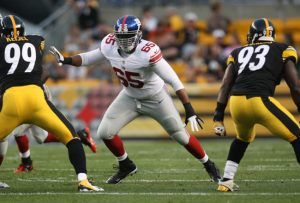 Will Beatty, New York Giants (August 10, 2013)