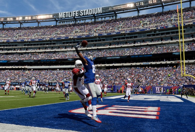 Rueben Randle, New York Giants (September 14, 2014)