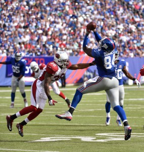 Larry Donnell, New York Giants (September 14, 2014)