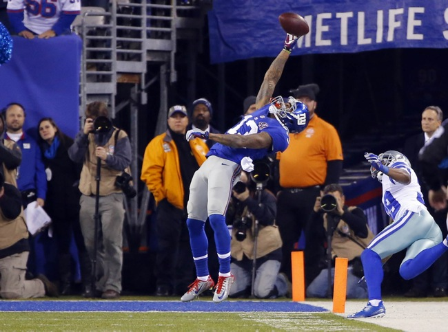 Odell Beckham, New York Giants (November 23, 2014)