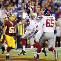 New York Giants 45 - Washington Redskins 14