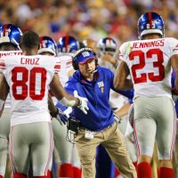 Conference Calls with Tom Coughlin, Victor Cruz, Prince Amukamara