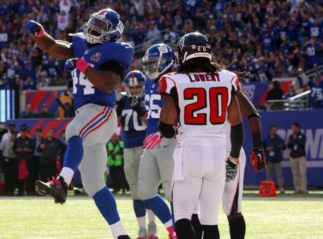 Andre Williams, New York Giants (October 5, 2014)