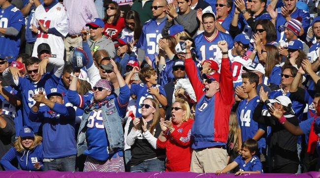New York Giants Fans (October 5, 2014)