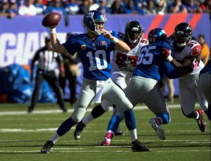 Eli Manning, New York Giants (October 5, 2014)