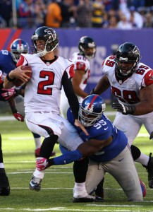 Johnathan Hankins, New York Giants (October 5, 2014)