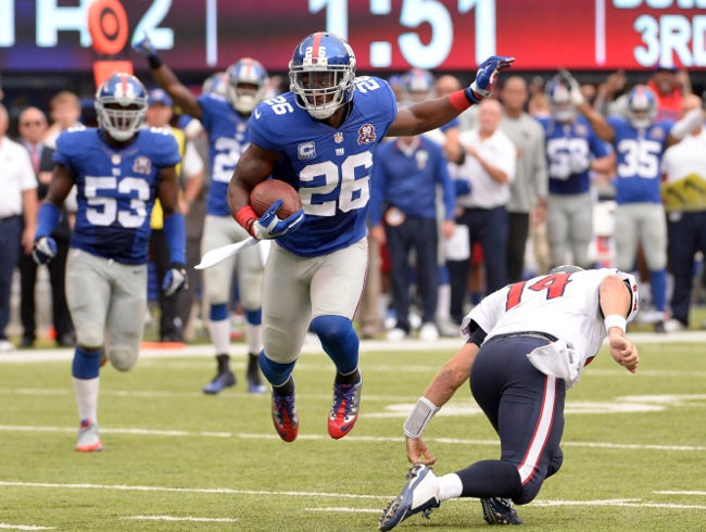 Antrel Rolle, New York Giants (September 21, 2014)