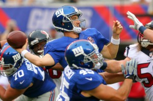 Eli Manning, New York Giants (September 21, 2014)