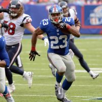 Rashad Jennings, New York Giants (September 21, 2014)