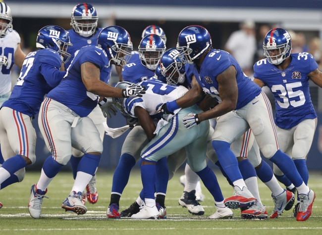 New York Giants Defense (October 19, 2014)