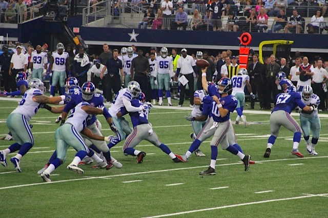 New York Giants Offense (October 19, 2014)