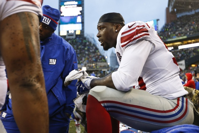 Jason Pierre-Paul, New York Giants (November 9, 2014)