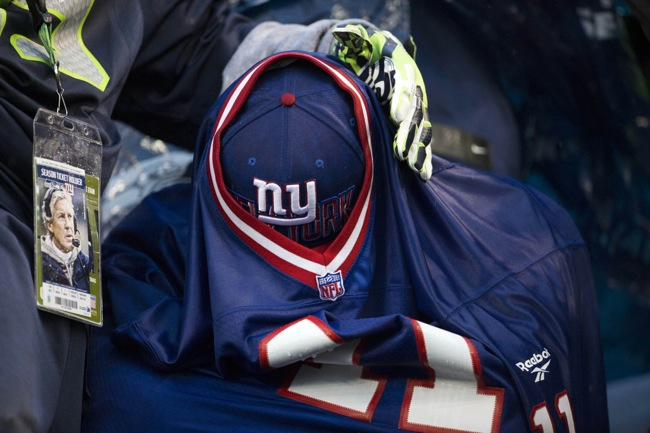 Fan, New York Giants (November 9, 2014)