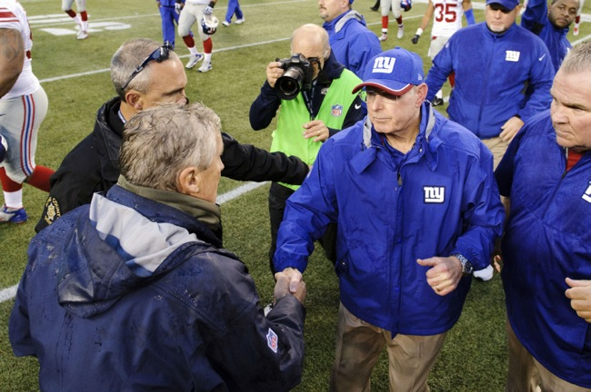 Tom Coughlin, New York Giants (November 9, 2014)