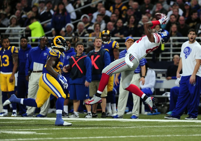 Larry Donnell, New York Giants (December 21, 2014)