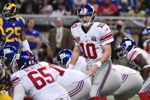 Eli Manning, New York Giants (December 21, 2014)