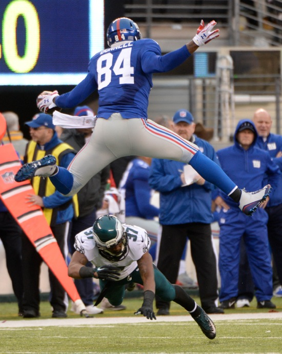 Larry Donnell, New York Giants (December 28, 2014)
