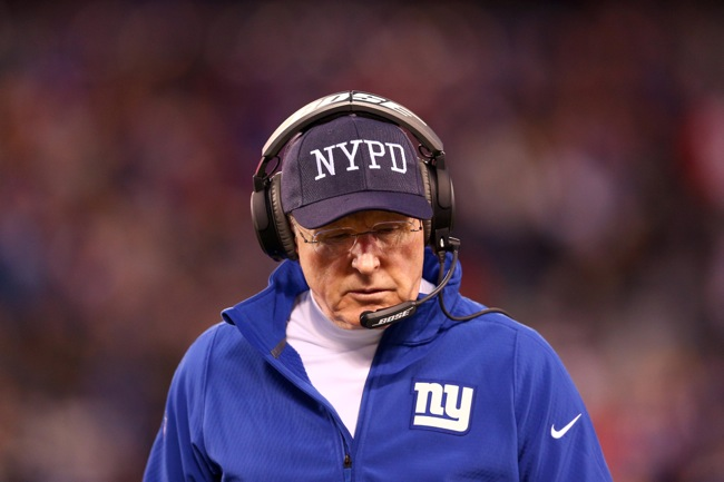 Tom Coughlin, New York Giants (December 28, 2014)