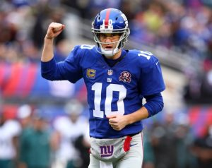 Eli Manning, New York Giants (December 28, 2014)