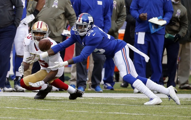 Chykie Brown, New York Giants (November 16, 2014)