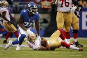 Robert Ayers, New York Giants (November 16, 2014)