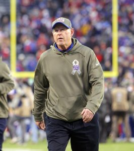 Tom Coughlin, New York Giants (November 16, 2014)