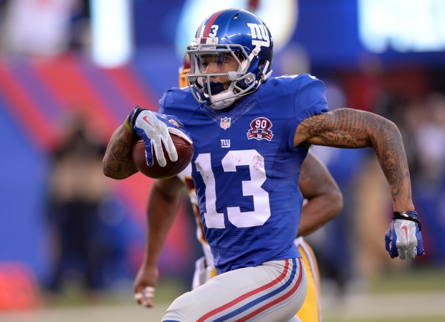 Odell Beckham, New York Giants (December 14, 2014)