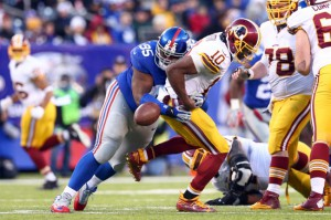 Johnathan Hankins, New York Giants (December 14, 2014)