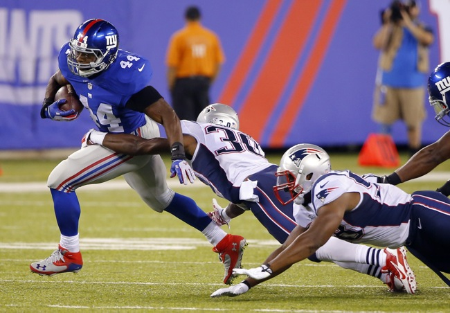 Andre Williams, New York Giants (August 28, 2014)
