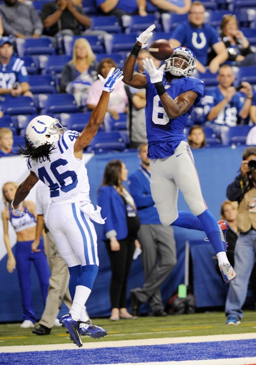 Corey Washington, New York Giants (August 16, 2014)