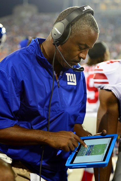 Craig Johnson, New York Giants (August 3, 2014)
