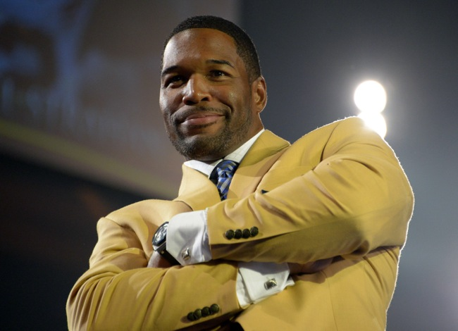 Michael Strahan, New York Giants (August 1, 2014)