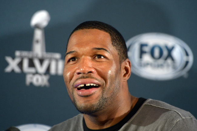 Michael Strahan, New York Giants (January 28, 2014)