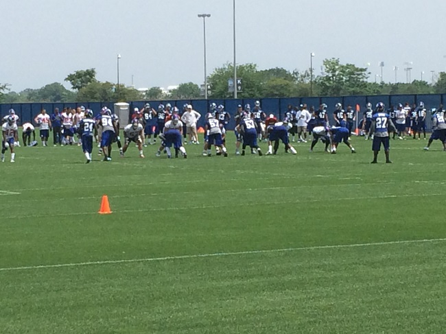 New York Giants Mini-Camp Practice (June 17, 2014)
