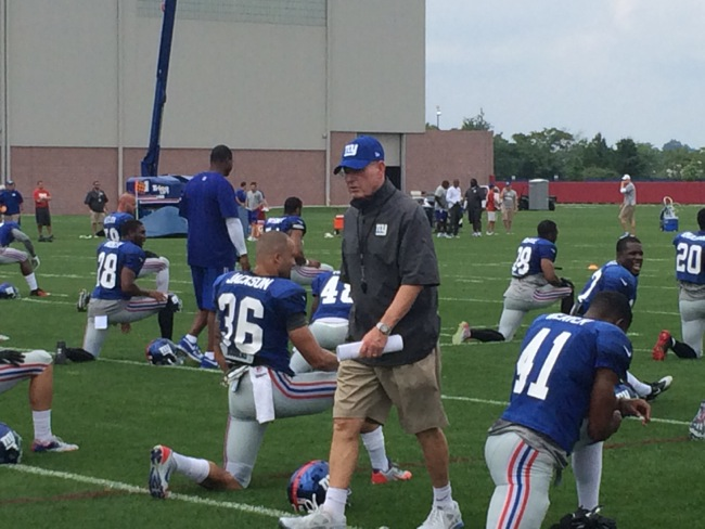 New York Giants Training Camp - Photo by Connor Hughes