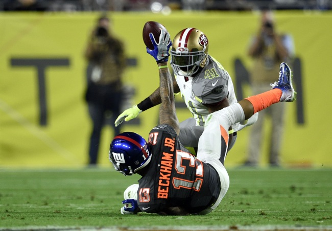 Odell Beckham Says He Tore His Hamstring Twice in 2014