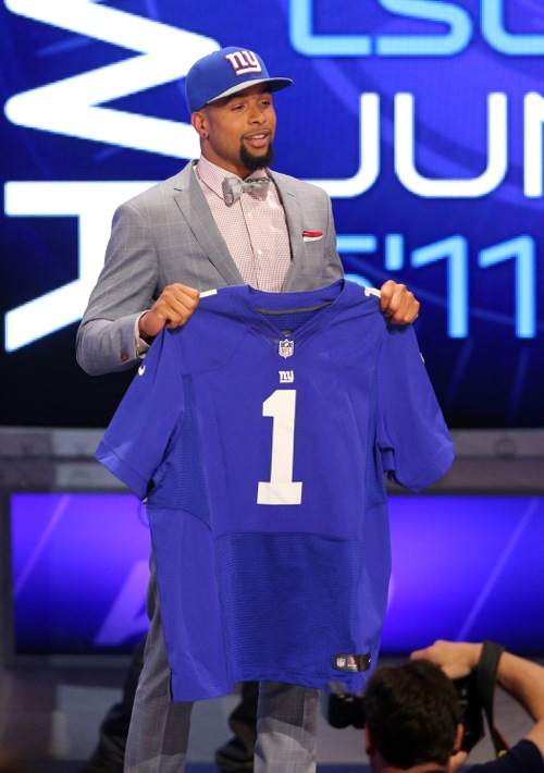 Odell Beckham, New York Giants (May 8, 2014)