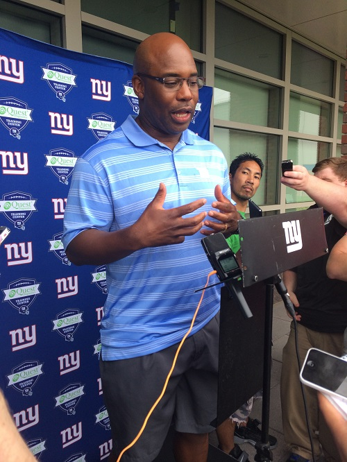 Perry Fewell, New York Giants (June 19, 2014)