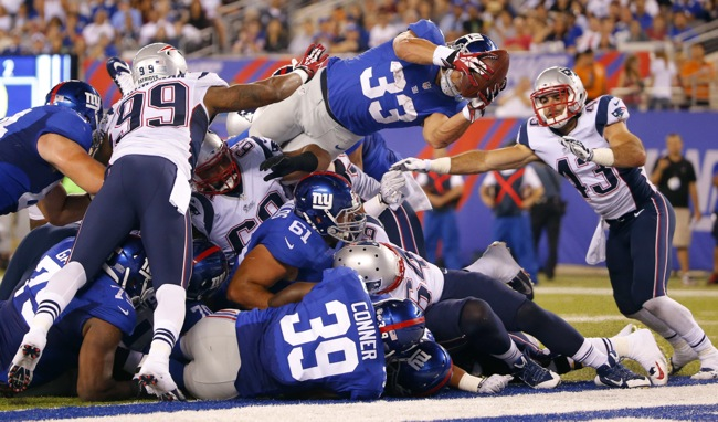 Quick Hits and Tidbits: New York Giants 16 - New England Patriots 13