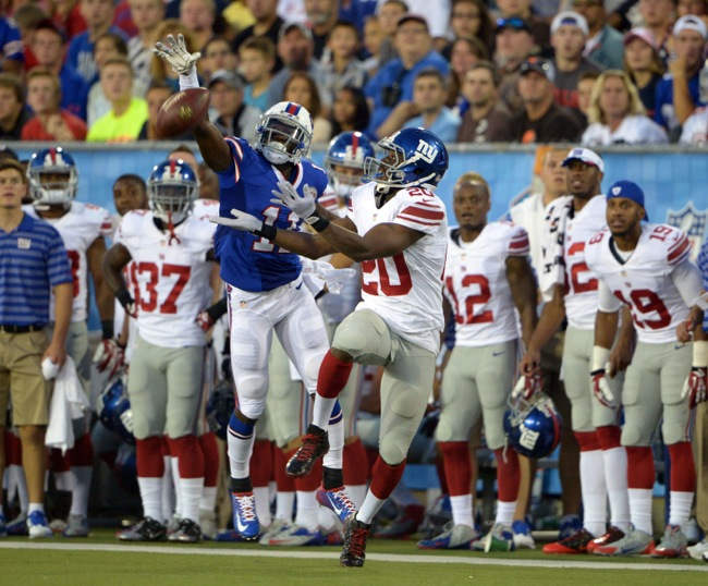 Prince Amukamara, New York Giants (August 3, 2014)