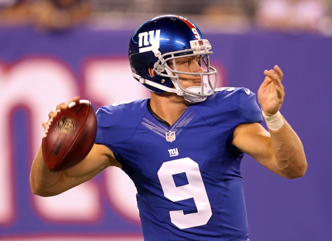 Ryan Nassib, New York Giants (August 9, 2014)
