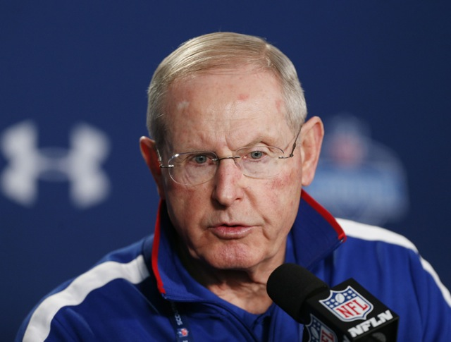 Tom Coughlin, New York Giants (February 21 2014)