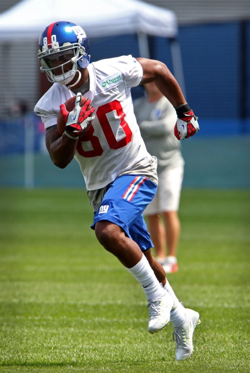 Victor Cruz, New York Giants (July 22, 2014)