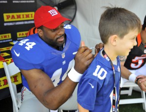Andre Williams, New York Giants (May 31, 2014)
