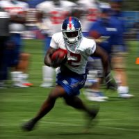 David Wilson, New York Giants (July 22, 2014)