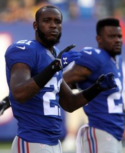 Dominique Rodgers-Cromartie and Walter Thurmond, New York Giants (August 9, 2014)