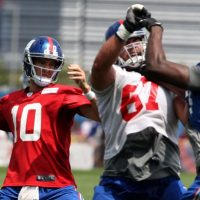 Eli Manning, New York Giants (July 22, 2014)