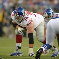 Geoff Schwartz, New York Giants (August 3, 2014)