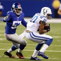 Jacquian Williams, New York Giants (August 16, 2014)